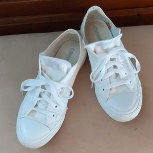 Converse All Star Chuck's White Unisex